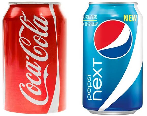 alcohol found in pepsi and coca cola